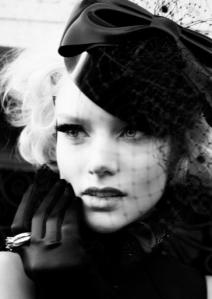 Photo credit Darren Black Make-up Victoria Bond @ Caren Agency Hair John MacPherson.